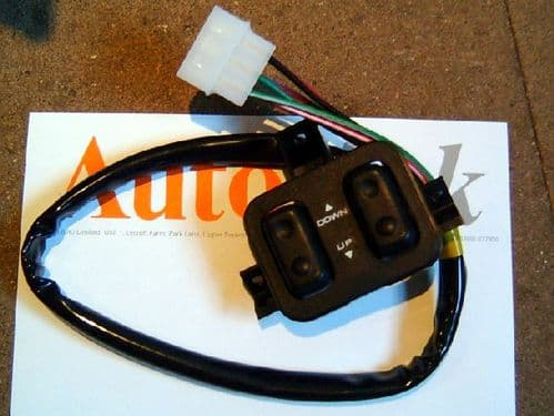 Switch, electric windows, Mazda MX-5 mk1, long cable, NEW, NA0166350A00