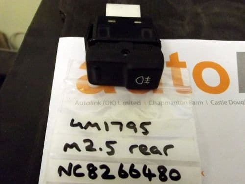 Switch, foglight, rocker type, Mazda MX-5 mk2.5 rear fog light, foglamp, NC8266480, USED