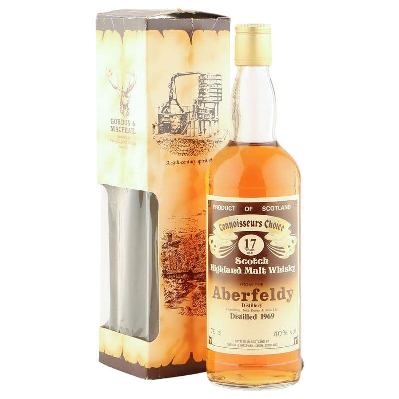 Aberfeldy 1969 17 Year Old, Gordon & MacPhail Connoisseurs Choice