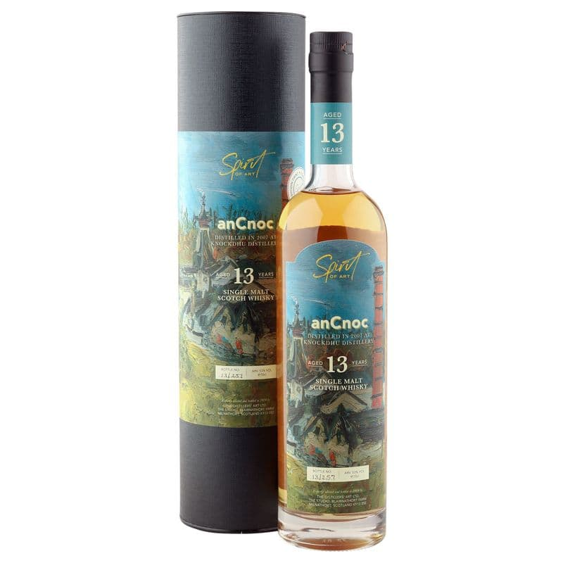 anCnoc 2007 13 Year Old, Spirit of Art 2020 Bottling