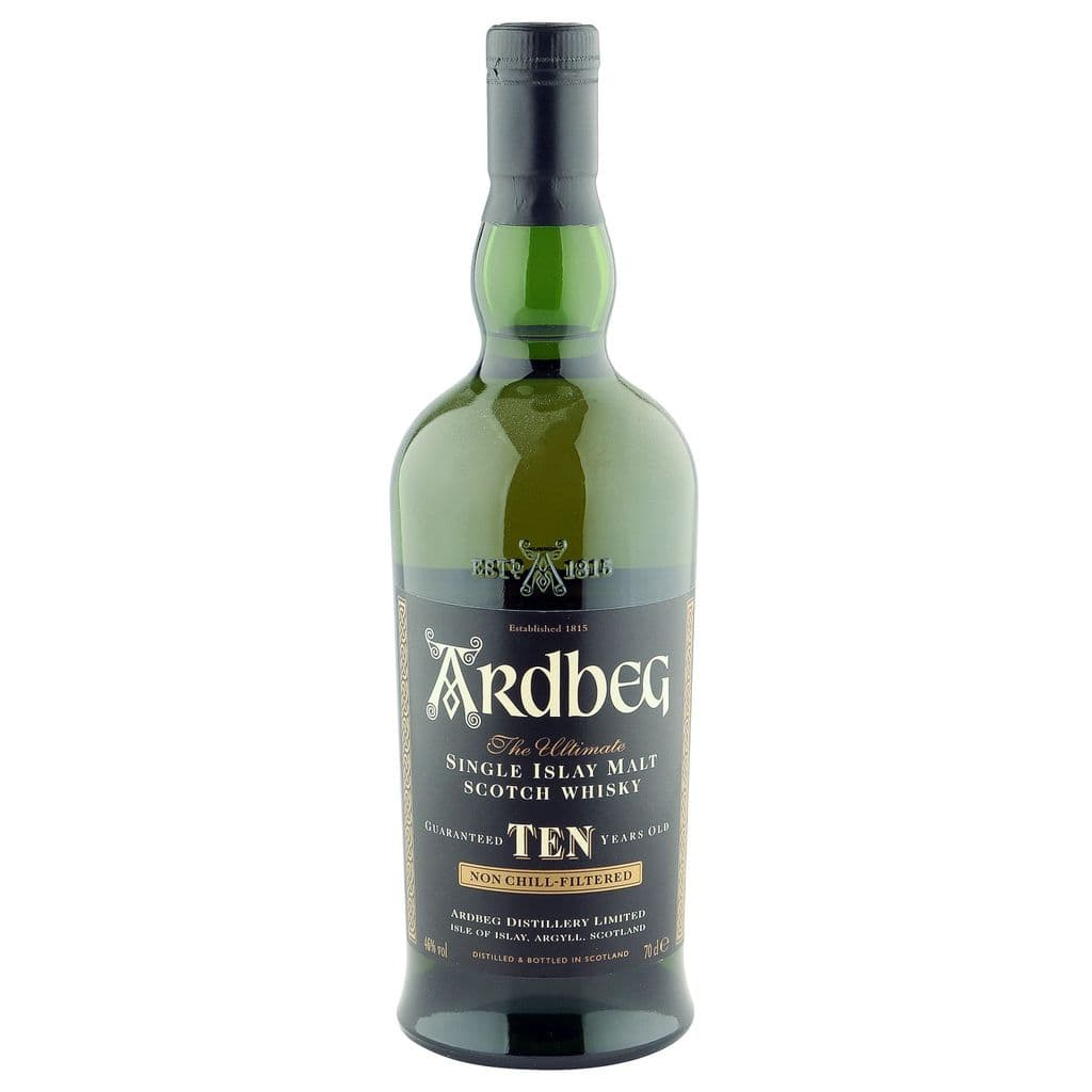 Ardbeg 10 Year Old, Introducing Ten Years Old 2001   The Whisky Vault