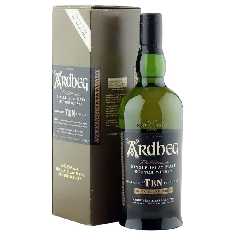 Ardbeg 10 Year Old, Introducing Ten Years Old 2004 Bottling with Box