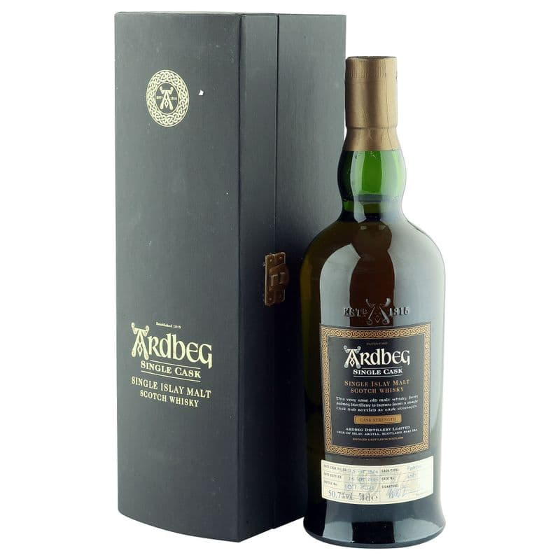 Ardbeg 1974 31 Year Old, Single Bourbon Cask #4989 Bottling with Box