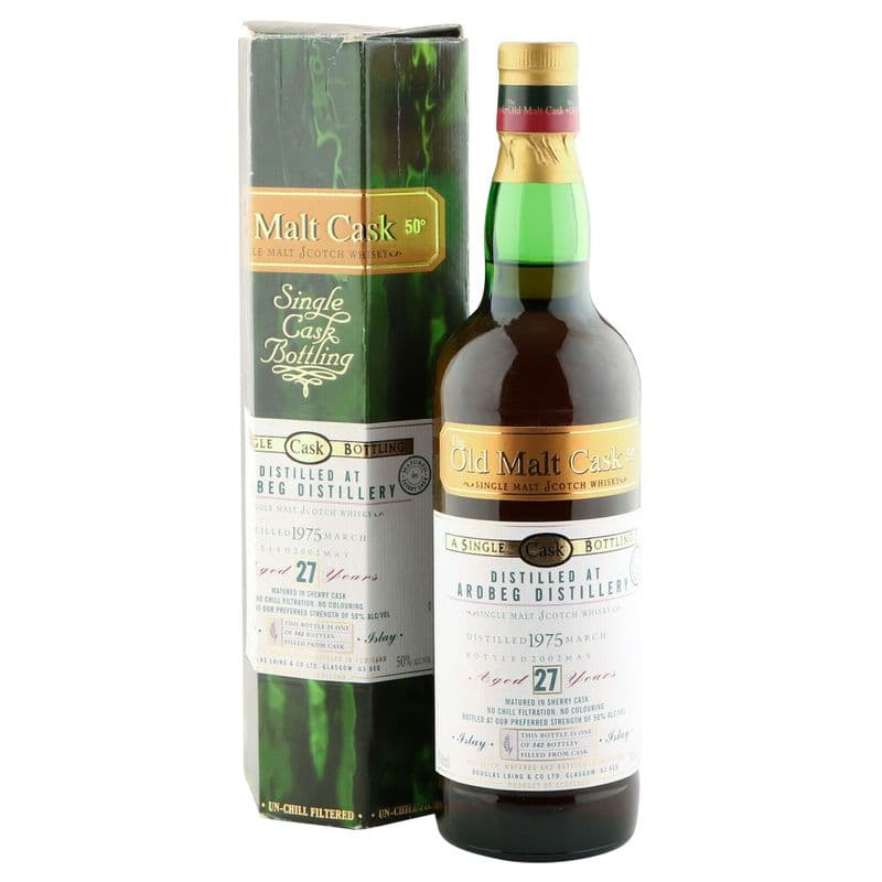 Ardbeg 1975 27 Year Old, The Old Malt Cask Bottling with Carton