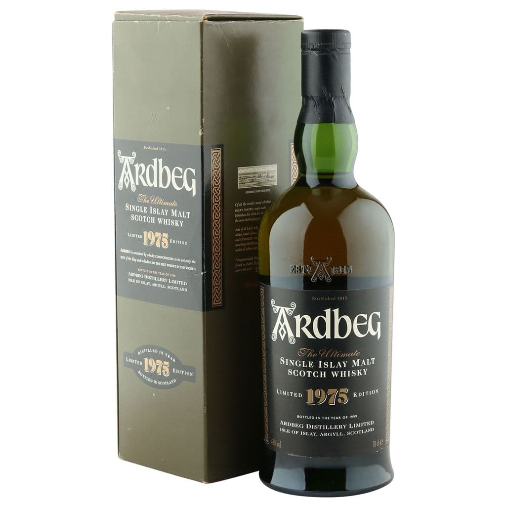 Ardbeg 1975, Limited Edition 1999 Bottling with Box