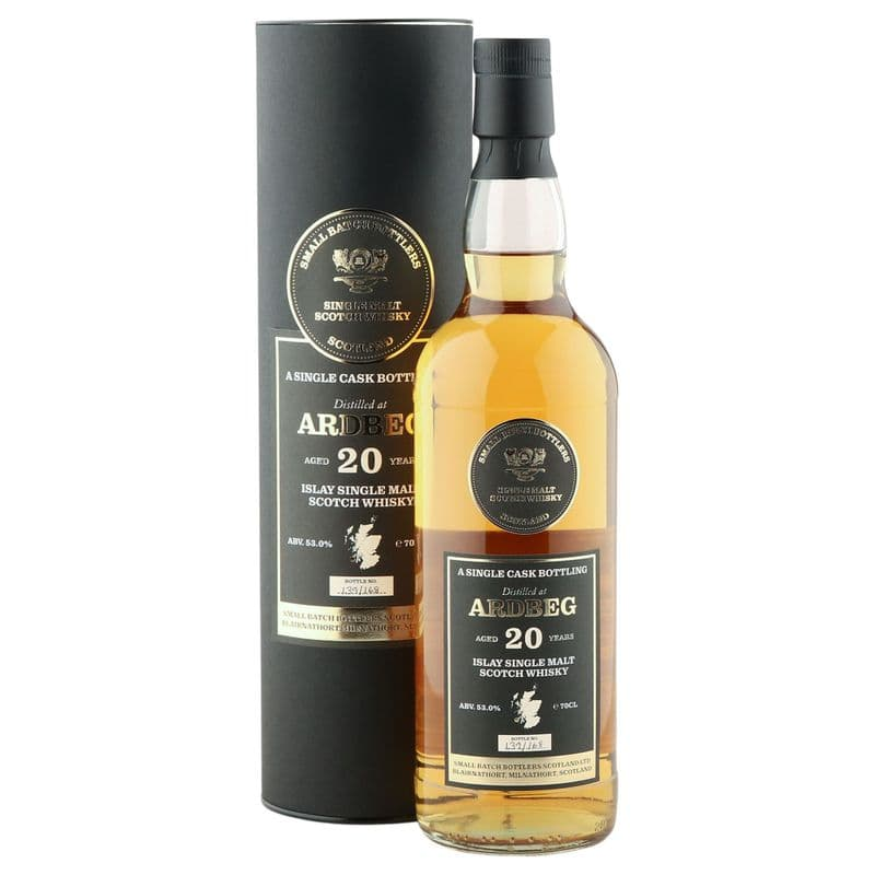 Ardbeg 20 Year Old, Small Batch Bottlers 2020 Single Cask