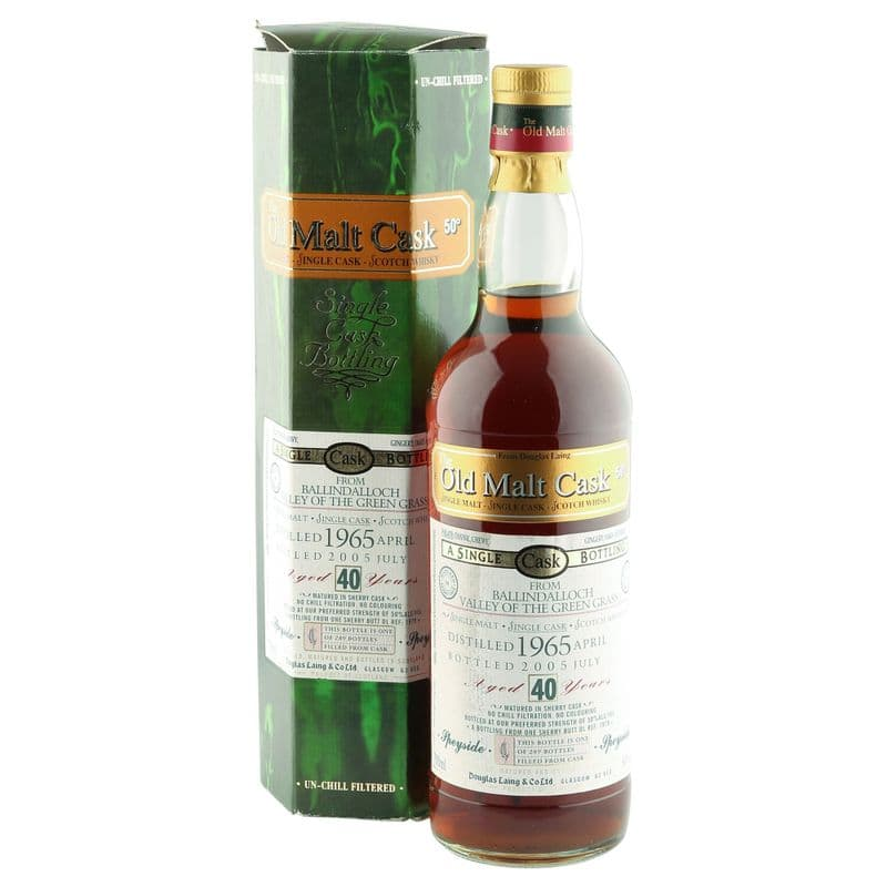 Ballindalloch 1965 40 Year Old, The Old Malt Cask 2005 Bottling
