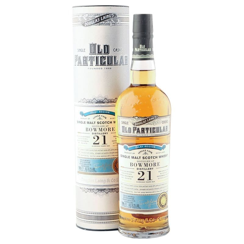 Bowmore 1998 21 Year Old, Douglas Laing Old Particular, Cask 14178