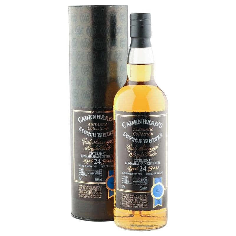 Bunnahabhain 1979 24 Year Old, Cadenhead's 2004 Bottling