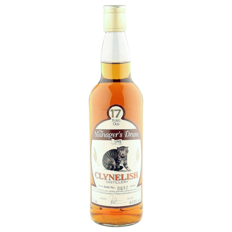 Clynelish 17 Year Old, The Manager's Dram 1998 Bottling