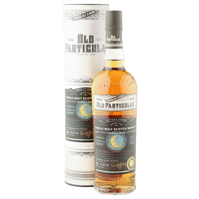Craigellachie 2005 15 Year Old, Old Particular - The Midnight Series