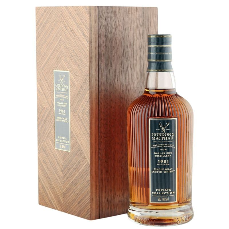 Dallas Dhu 1981 38 Year Old, Gordon & MacPhail's Private Collection - Cask 1162