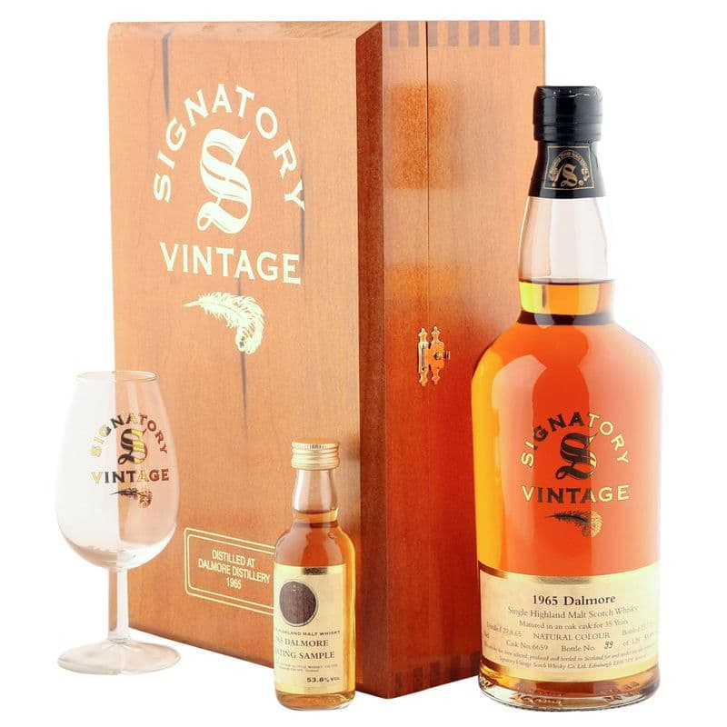 Dalmore 1965 35 Year Old, Signatory Vintage 2001 Set - Cask 6659
