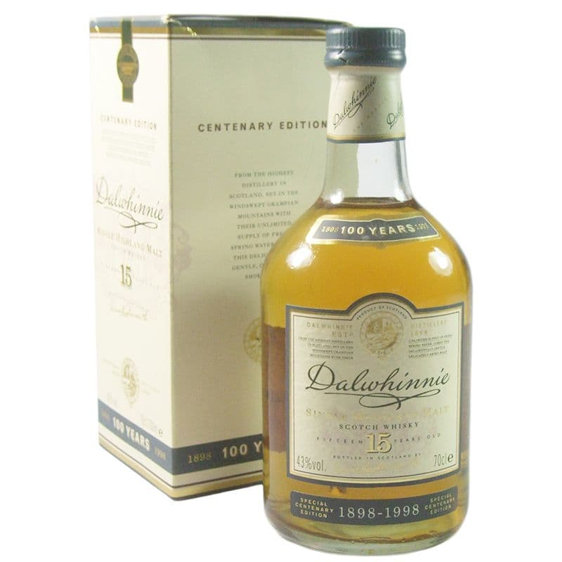 Dalwhinnie 15 Year Old, Centenary Edition with Box