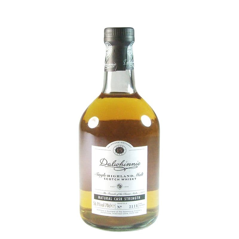 Dalwhinnie 15 Year Old, Friends of the Classic Malts 2002 Bottling