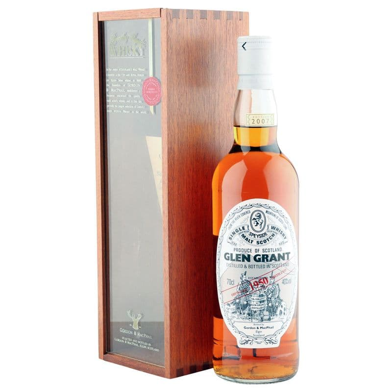 Glen Grant 1950, Gordon & MacPhail 2007 Bottling with Presentation Box
