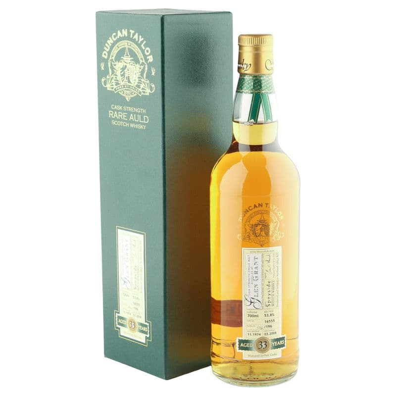 Glen Grant 1974 33 Year Old, Duncan Taylor Rare Auld Cask Strength