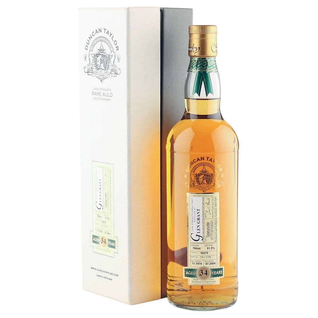 Glen Grant 1974 34 Year Old, Duncan Taylor Rare | The Whisky Vault