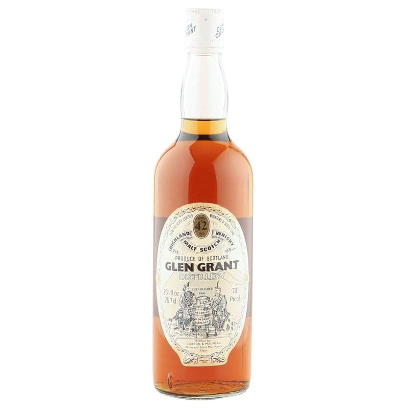 Glen Grant 42 Year Old, Seventies Gordon & MacPhail Bottling