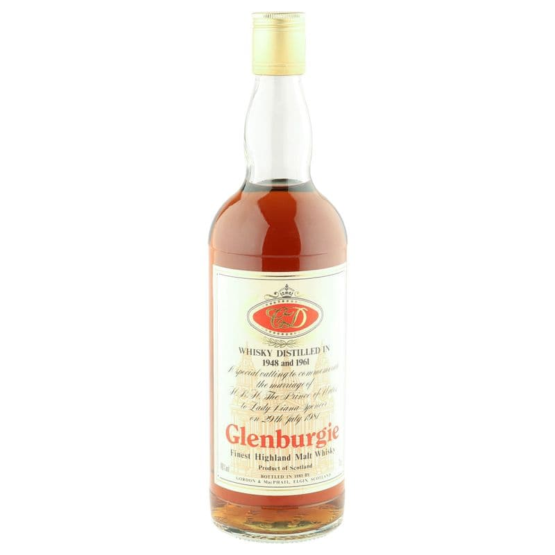 Glenburgie 1948/1961 Royal Marriage 1981 Bottling