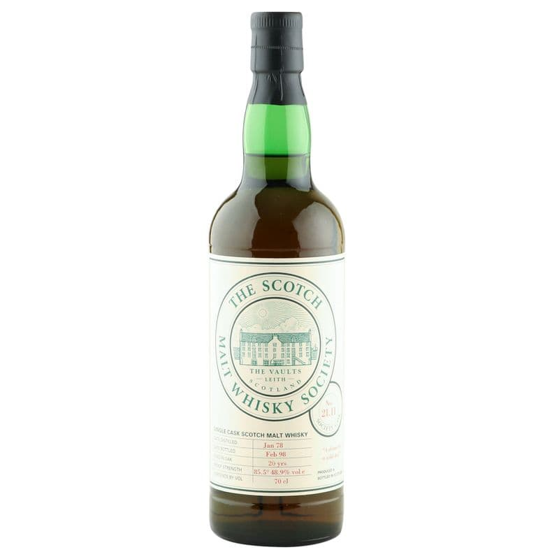 Glenglassaugh 1978 20 Year Old, SMWS 21.11 - A Dram for a Wild Day
