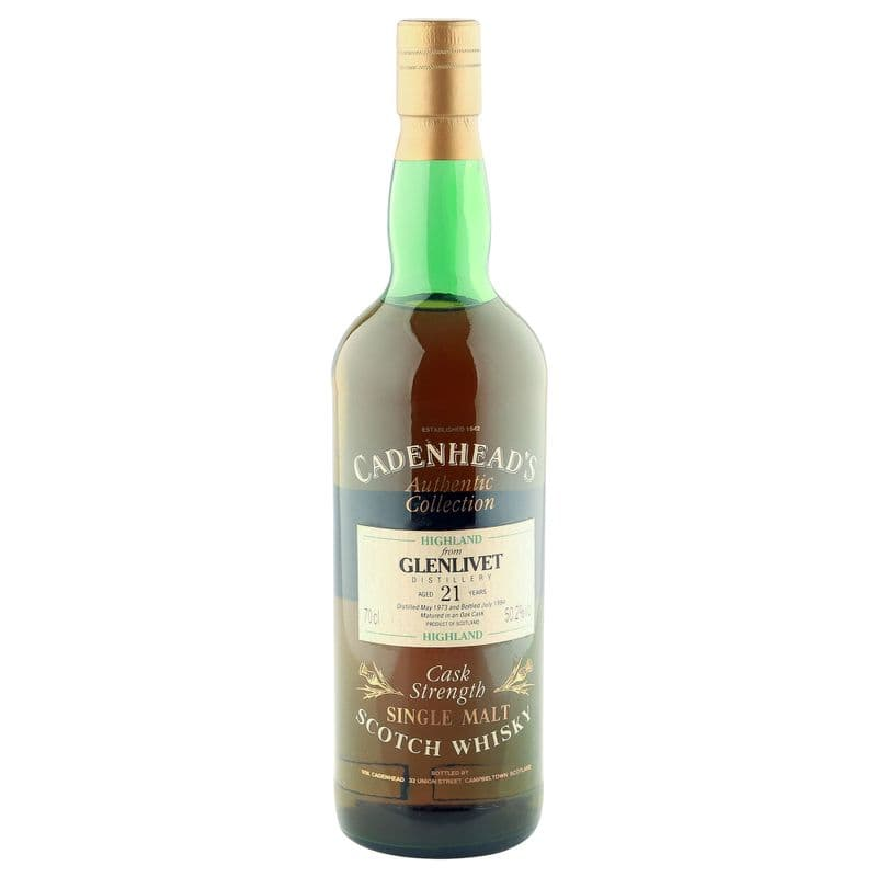 Glenlivet 1973 21 Year Old, Cadenhead's 1994 Bottling