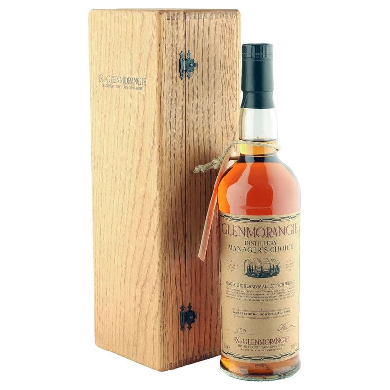 Glenmorangie 1987 Distillery Manager's Choice Bottling with Box