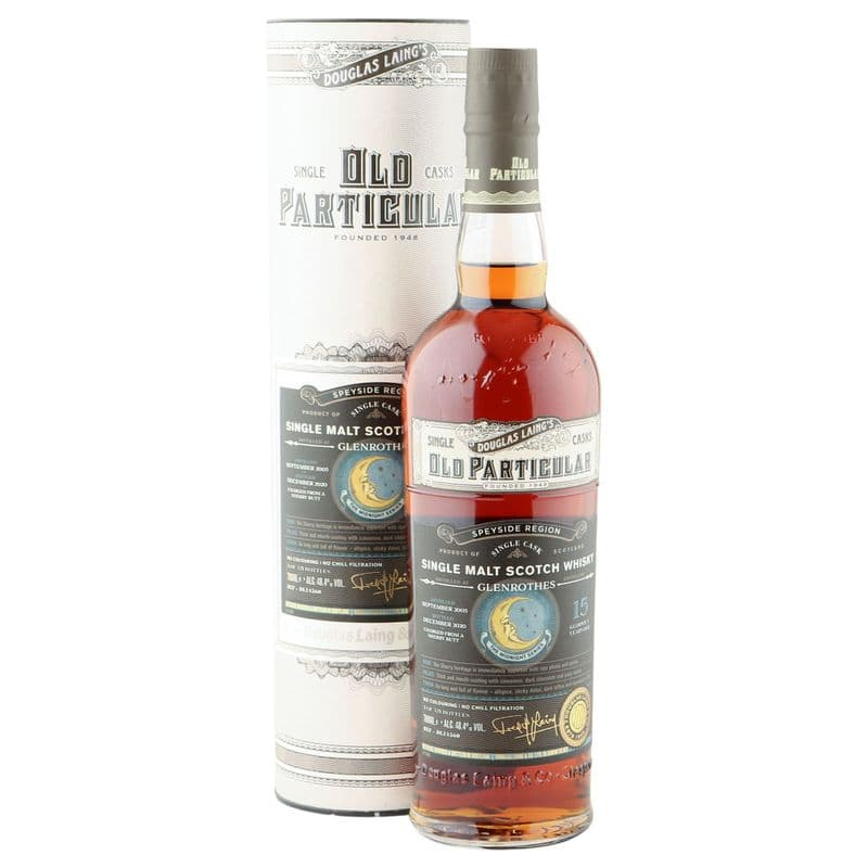 Glenrothes 2005 15 Year Old, Old Particular - The Midnight Series