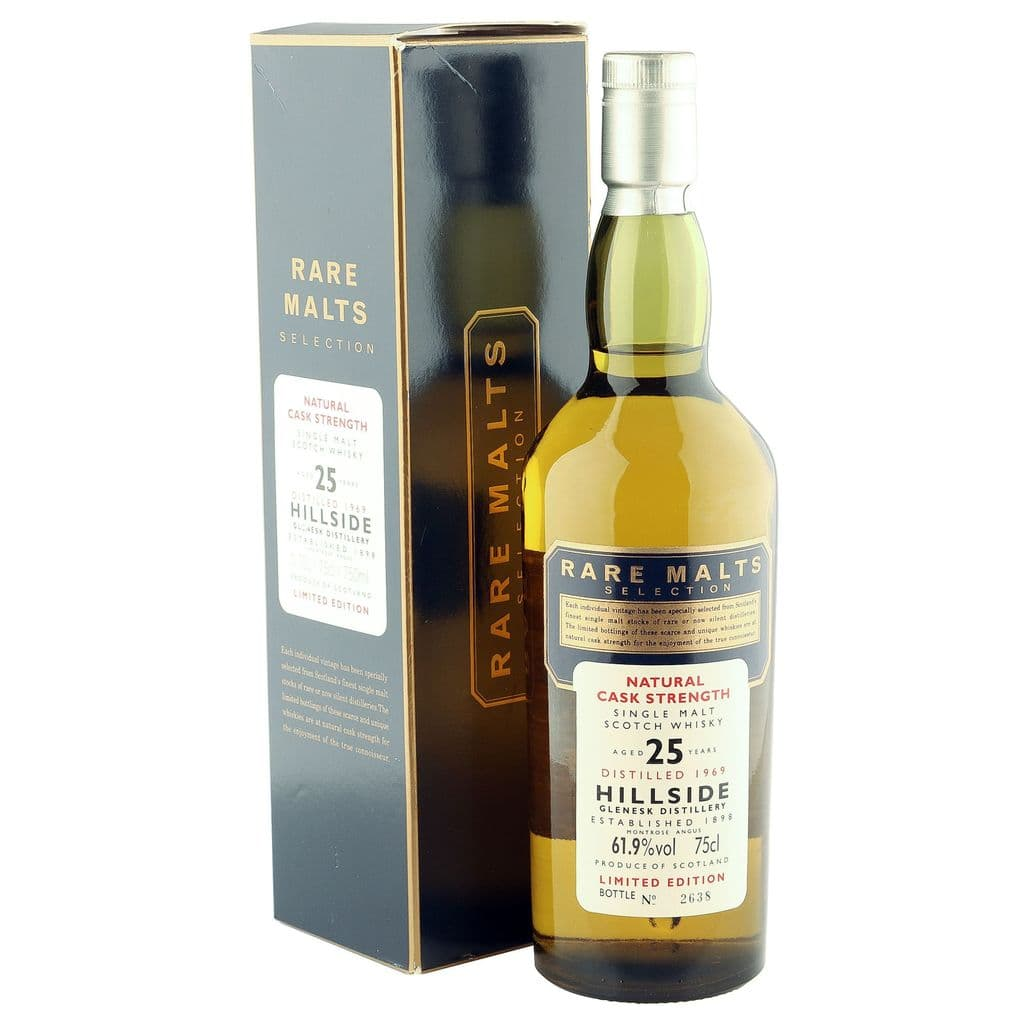 Hillside 1969 25 Year Old, Rare Malts with Box | The Whisky Vault