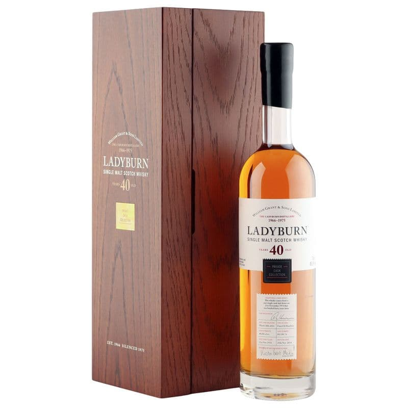 Ladyburn 1974 40 Year Old, Private Cask Collection 2014 Bottling with Presentation Case