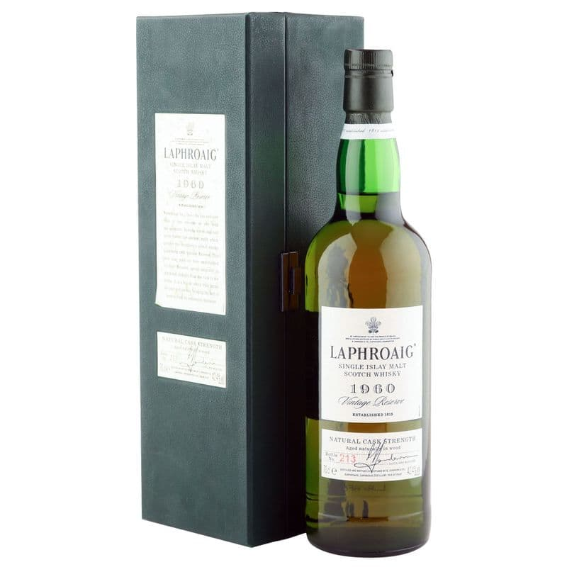 Laphroaig 1960 40 Year Old Vintage Reserve with Presentation Case