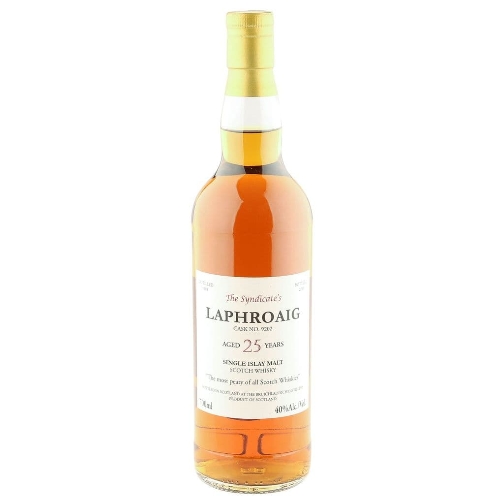 Laphroaig 1988 25 Year Old, The Syndicate's 2013 | The Whisky Vault