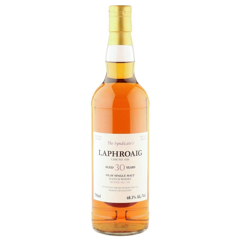 Laphroaig 1988 30 Year Old, The Syndicate's 2018 Bottling