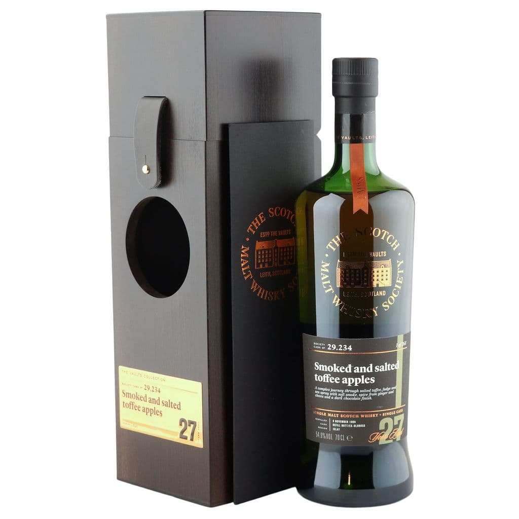 Laphroaig 1989 27 Year Old, SMWS 29.234 | The Whisky Vault