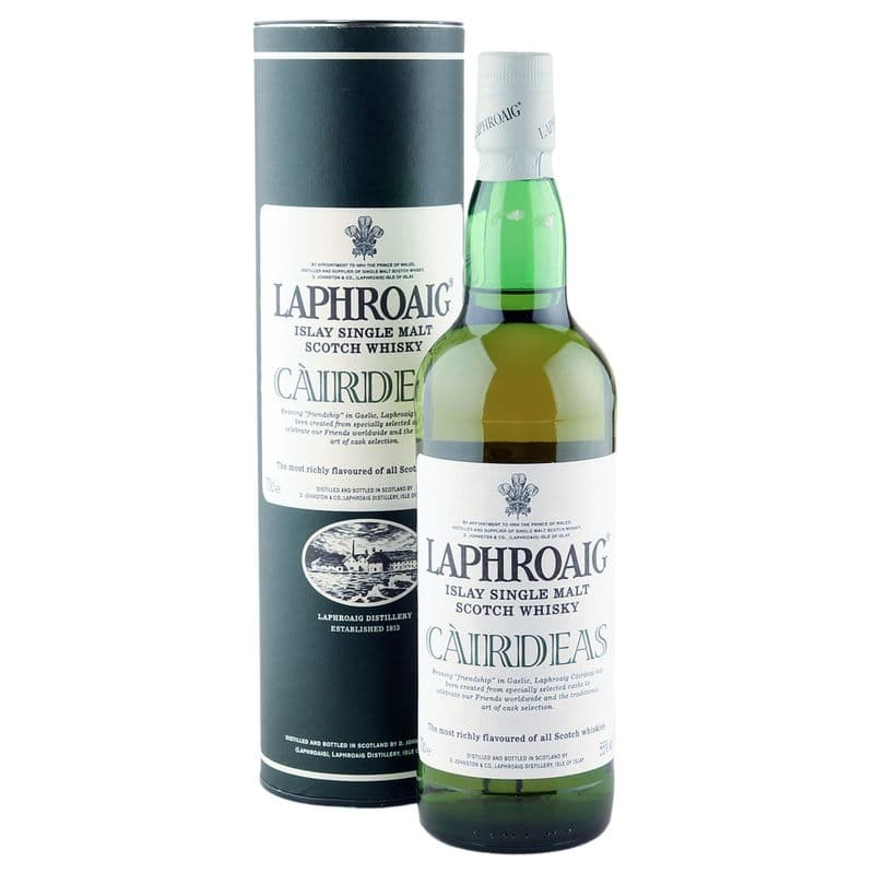 Laphroaig Cairdeas, Feis Ile 2008 Bottling with Tube