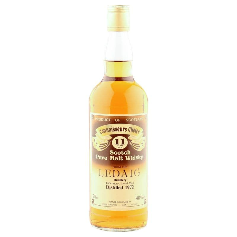 Ledaig 1972 11 Year Old, Gordon & MacPhail Connoisseurs Choice