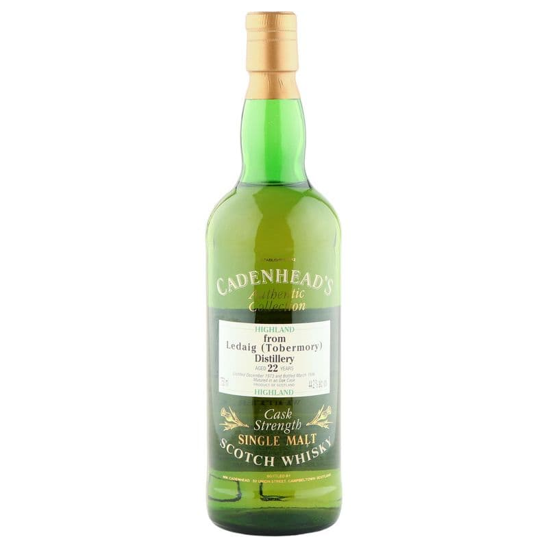 Ledaig 1973 22 Year Old, Cadenhead's 1996 Bottling