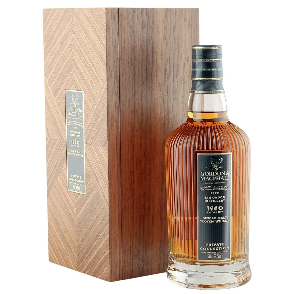 Linkwood 1980 40 Year Old, Gordon & MacPhail Private Collection - Cask 8248