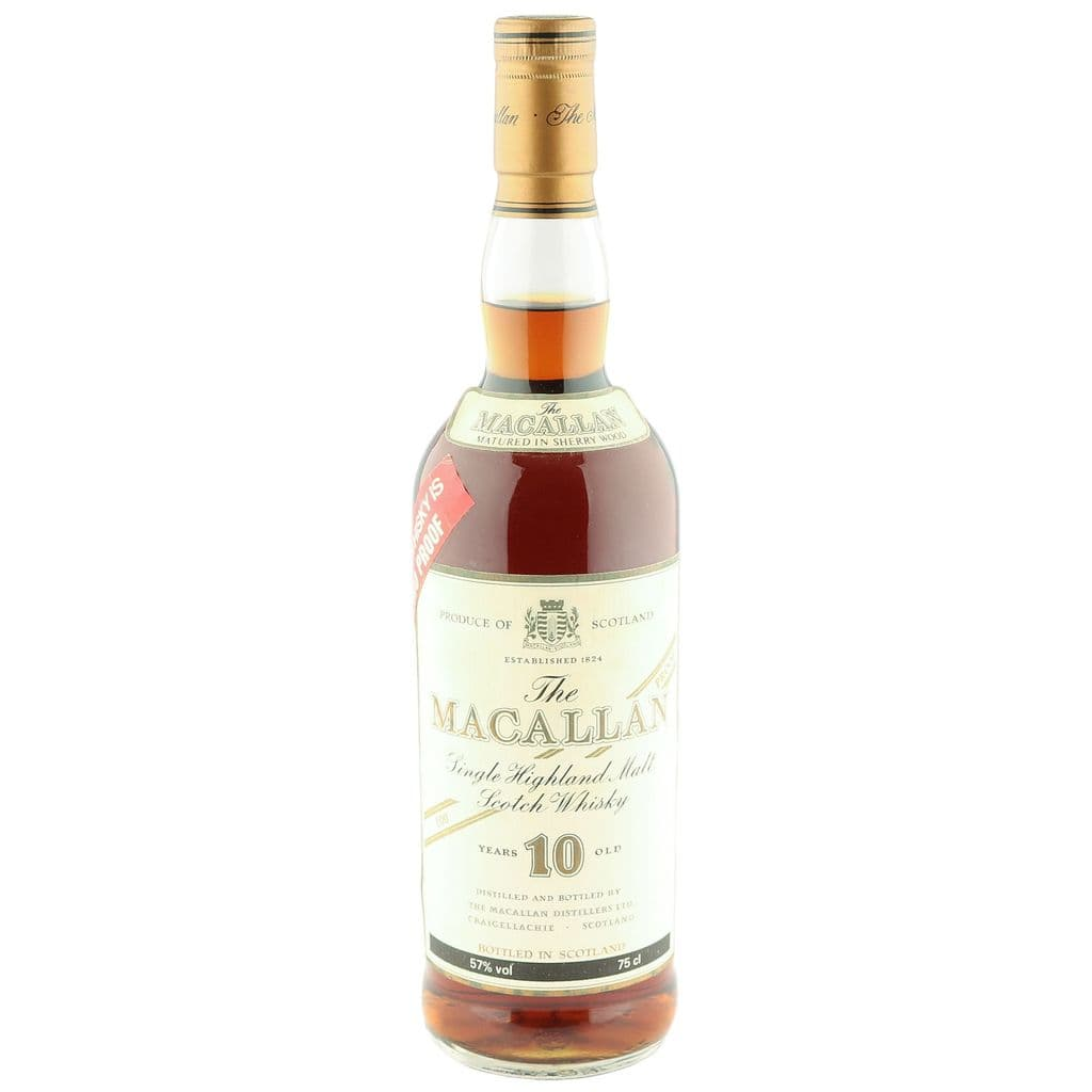 Macallan 10 Year Old, Eighties 100 Proof Bottling | The Whisky Vault