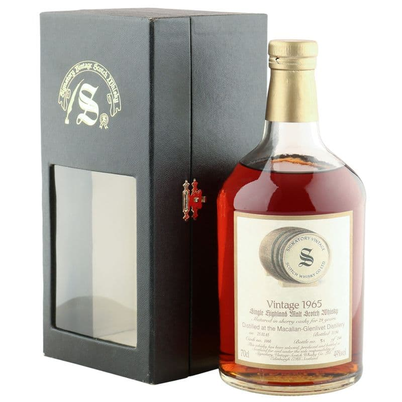 Macallan 1965 29 Year Old, Signatory Vintage 1994 Bottling, Cask 1060