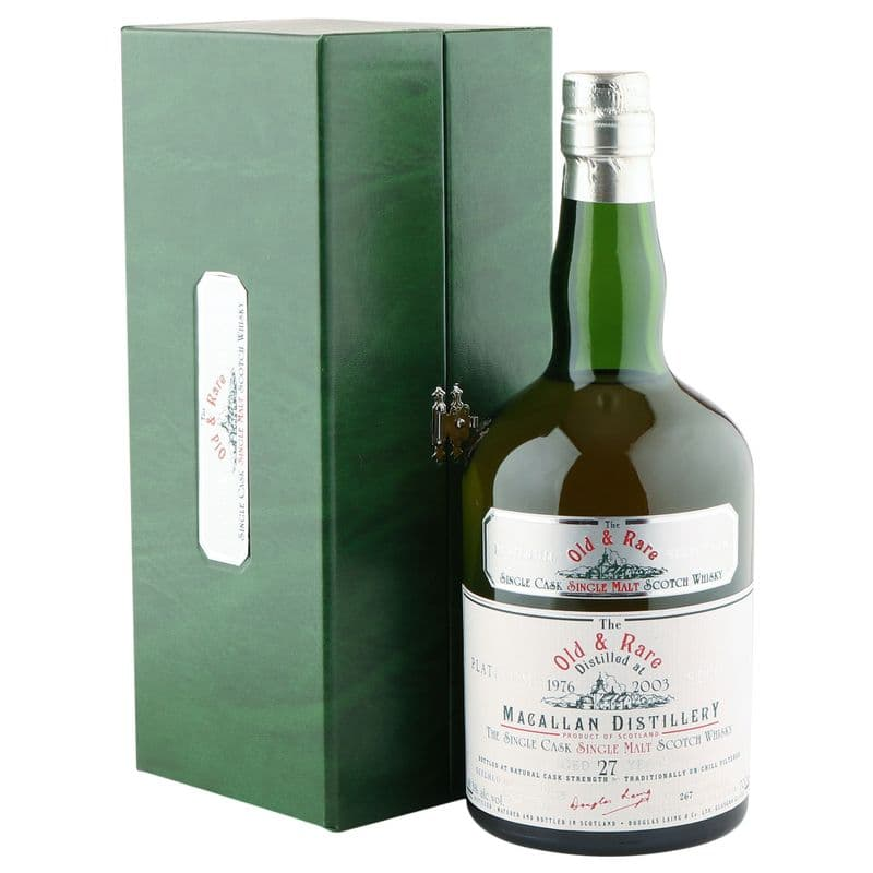 Macallan 1976 27 Year Old, Douglas Laing's Old & Rare 2003 Bottling