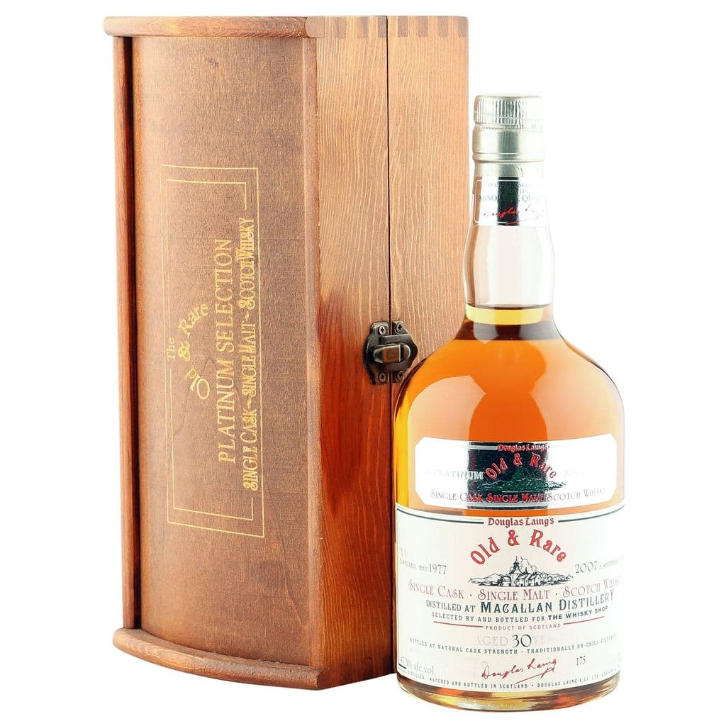 Macallan 1977 30 Year Old, Douglas Laing's Old | The Whisky Vault