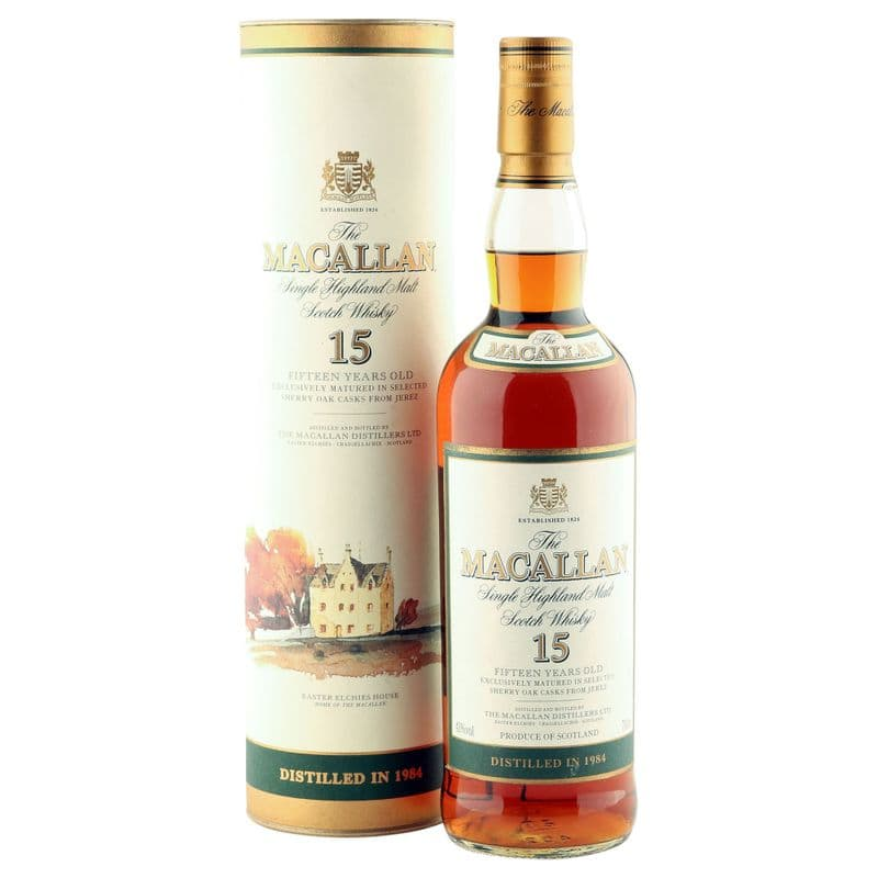 Macallan 1984 15 Year Old with Tube