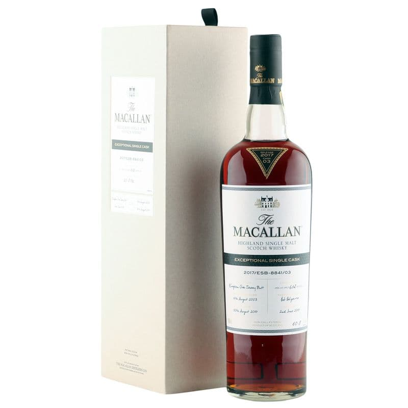 Macallan 2003 14 Year Old, Exceptional Single Cask - 2017/ESB-8841-03