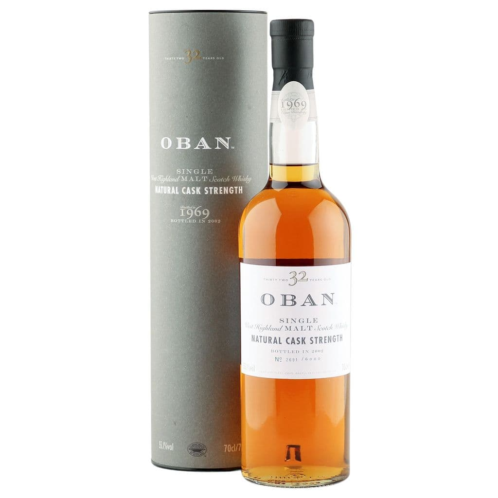 Oban 1969 32 Year Old with Tube | The Whisky Vault