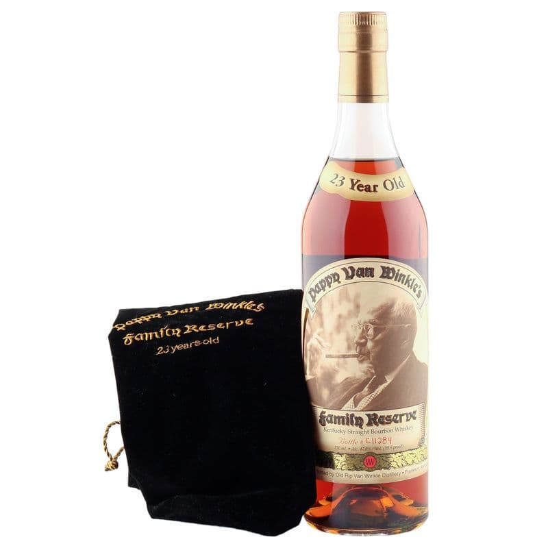 Pappy Van Winkle's 23 Year Old Family Reserve Bourbon Whiskey
