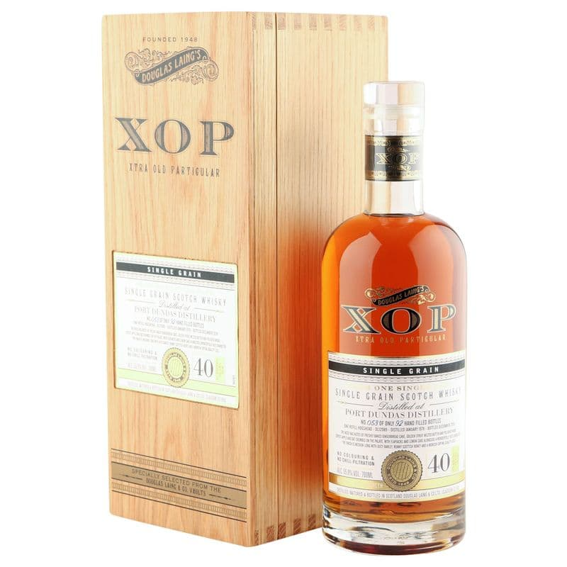 Port Dundas 1978 40 Year Old, Douglas Laing XOP 2018, Cask 12989