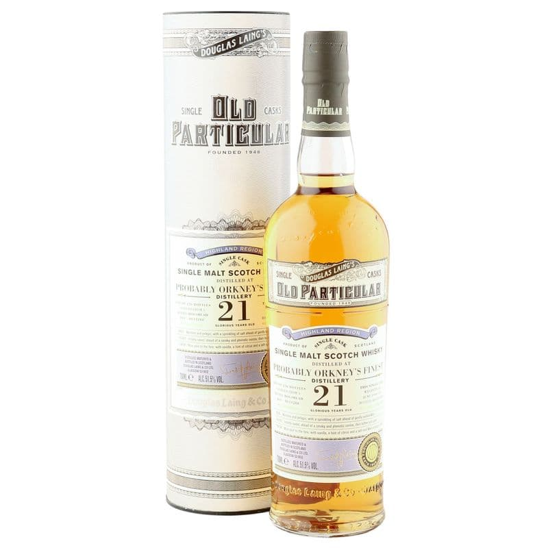Probably Orkney's Finest 1999 21 Year Old, Old Particular, Cask 14288