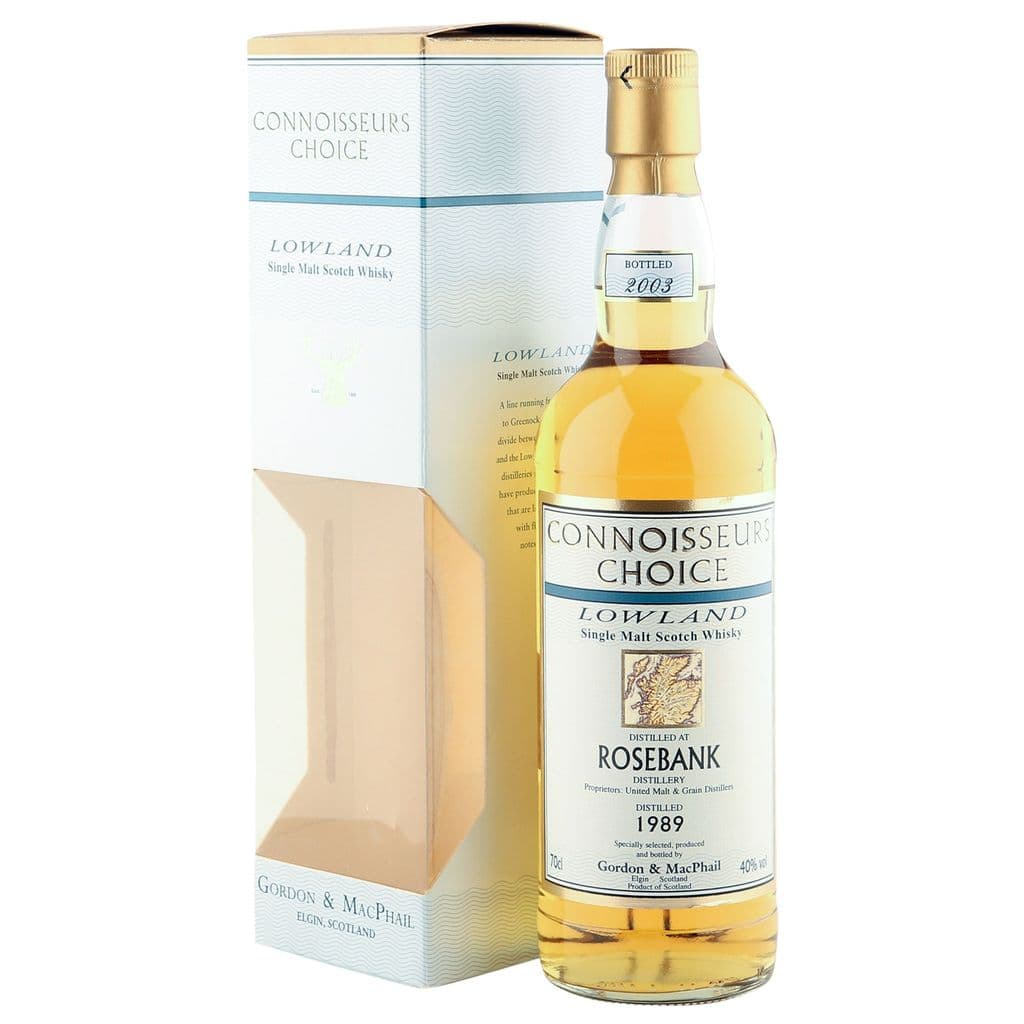 Rosebank 1989, Gordon & MacPhail Connoisseurs Choice | The Whisky Vault
