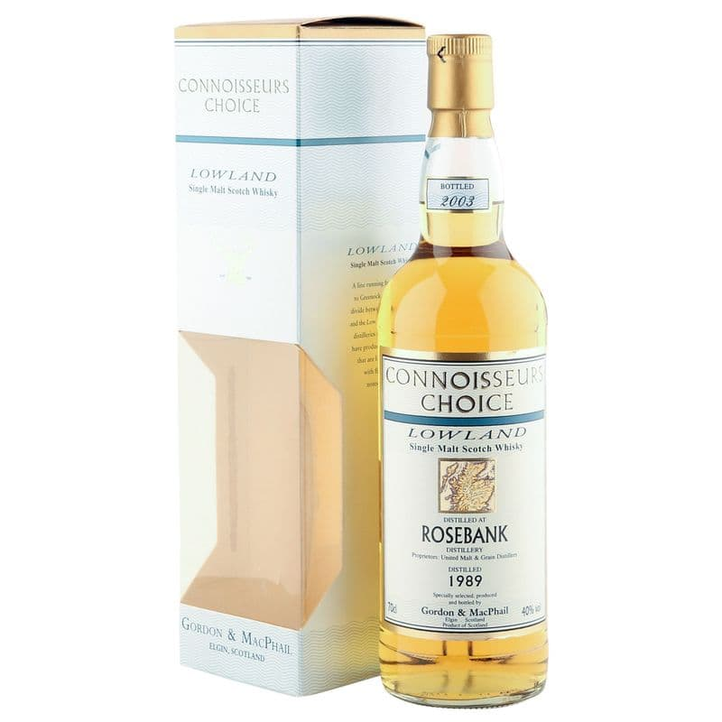 Rosebank 1989, Gordon & MacPhail Connoisseurs Choice 2003 Bottling
